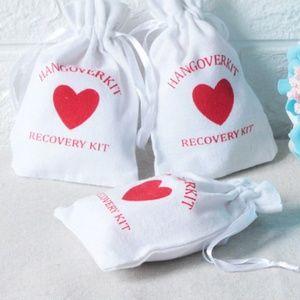 10 Hangover Kit Party Favor Wedding Souvenirs Bags